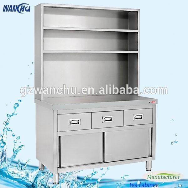 Restaurant Tea Table Cabinet Kitchen Stainless Steel Storage Cabinet