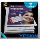2015 Best quality vivid images wholesale waterproof glossy photo paper rc,190g 230g 260g