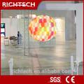 ! caliente richtech transparente película de proyección trasera 200 pulgadas proyector de pantalla
