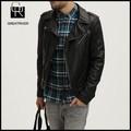 vestuário hippie metálico elegante punk jaqueta de moto para o homem jovem