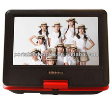 All formats portable dvd tv vcd mp3 cd player