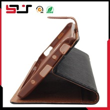 Leather cover for samsung galaxy note edge wallet case