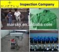 Calidad de servicio de la inspección / terceros Control de calidad y servicios de pruebas de / informe de inspección