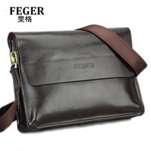 Feger Best Selling Faux Leather Messenger Bag for Men