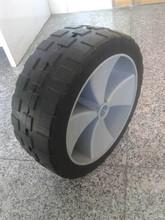 10 inch wheelbarrow solid rubber wheel