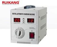 Digital display 12v battery charger