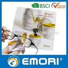 Low cost multi-functional polyester nylon microfiber cloth sunglasses