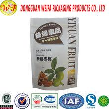 Dried Fruit Flat Laminated Waterproof Ziplock Plastic Bag,food fresh maintaining pouches
