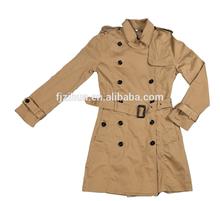 2014 NEW Women's Ladies Autumn & Winter Slim-fitting Woolen Long Wind jacket put wear Coat