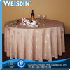 100% Linen wholesale Patchwork table cloth for hotel banquet