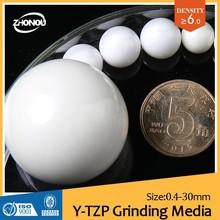OBD 2015 China JIANG XI good performance yttria stabilized zirconia cheap beads/grinding ultrafine titanium dioxide