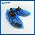 esterno di pioggia in plastica usa e getta scarpa impermeabile coperture uomo galosce