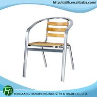 hot sale garden aluminum chairs/factory aluminum polywood chair