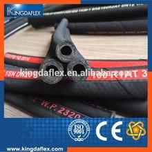 good quality stainless steel wire braided hydraulic power flex hose