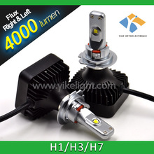China Factory Car Led Light h7 projector lens angel eyes