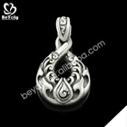 2015 stainless steel jewelry wholesale gold and silver allah pendant necklace