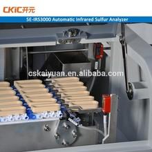 High effciency coal sulfur analyzer