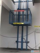 Hydraulic guide rail vertical 5 ton hydraulic table lift