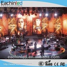 nightclub & dj p4 indoor stage led display wall screen