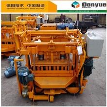 QT40-3A low investment mini concrete block production line