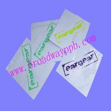 custom printed reclosable aluminum foil zipper bags for small electronic products
