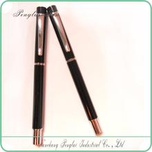 Traditional Black metal Gel Point Pen
