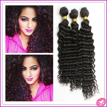 High quality large stock peruvian deep wave hair
