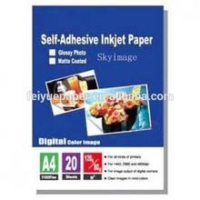 Inkjet Image Transfers Using Self Adhesive Paper