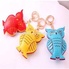 2015 Hot Sell Handmade Owl Keychain Felt Ornament made in China