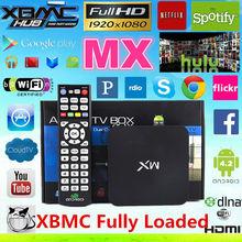 original amlogic 8726 mx/mx2 tv box dual core android smart tv box escrow payment accept