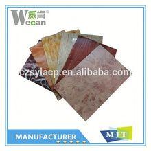 2015 Aluwecan building facade aluminium composite panel for kitchen cabinets decorative panel