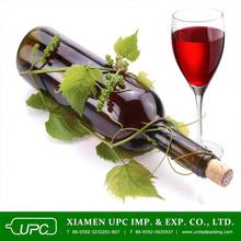 26oz yellow green/dark green glass liquor bottle/red wine bottles