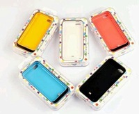 High-Quality 3 IN 1 2200 mAh External Battery Power Bank Case for iPhone5/iPhonee5s/iPhone5c
