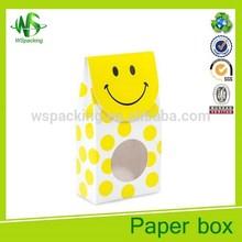 Sweet macaron packaging box wholesale macaron trinket box