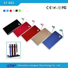 LT-A11 Slim 3000mah Portable mobile power bank credit card phone external charger