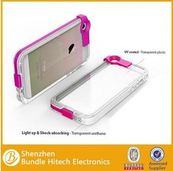 Ebay best seller new products to sell for iphone 6 led case While Calling and Called lightning flash light case