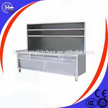Restaurante con mesas occidental de cocción equipos que se utiliza en kfc gabinetes de cocina baratos
