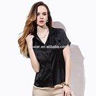 ladies elegant silk satin blouses