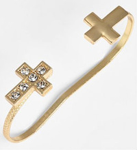 Top level antique magnetic cuff bracelet