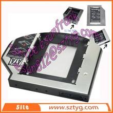 alibaba]ru fit in standard CD / DVD hdd case/hdd enclosure/hdd bay use cd rom hdd caddy