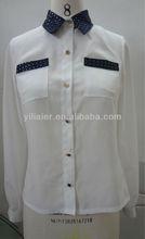 Jacquard Collar Top YXO13013