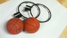 "12"" mini steel basketball rims, factory price"