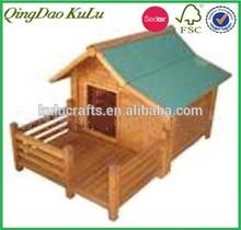 Eco Friendly wooden pet house , cheap wooden pet house ,indoor wooden pet house