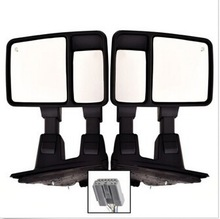 Super Duty Towing Power Side Mirrors Pair Set LH RH Signal Heated US