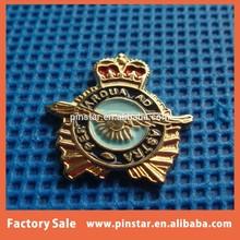 2015 hot new products alibaba china wholesale high quality metal custom soft enamel car emblem badge pin