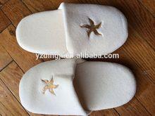 best selling waffle slippers for hotel /2012 Anti Skip Hotel Slipper EVA Slipper With Velcro