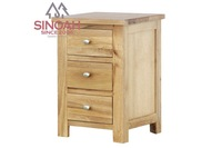 oak furniture bedroom night stand wooden bedside table for a laptop