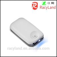 5000 mah mobile power bank charger external 18650 battery power portable