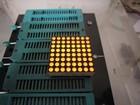1.2 Inch 8*8 Dot Matrix LED Display Amber Color