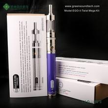 Disposable E Hookah GS EgoII Twist Mega Kit Disposable Ego Vaporizer Pen E Hookah